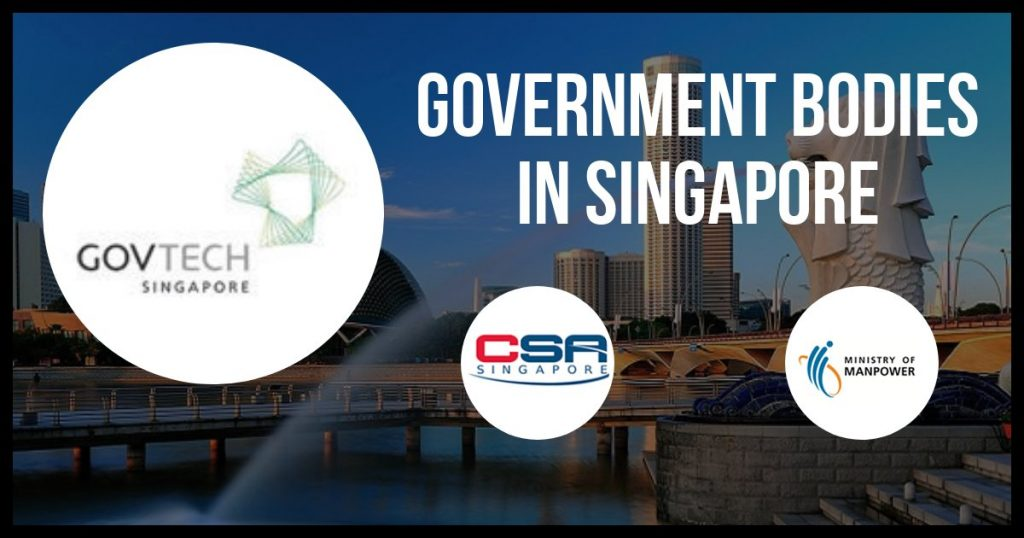 Government Bodies or Ministries in Singapore