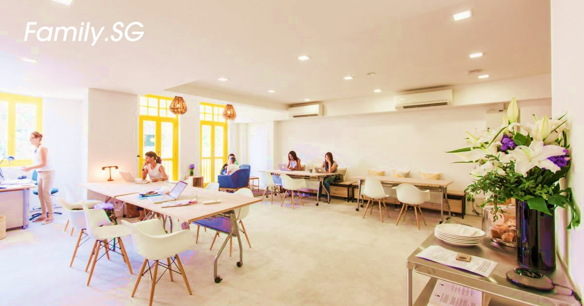 Woolfworks Singapore Co-working Space for Women