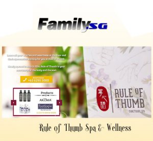 rule of thumb singapore spa
